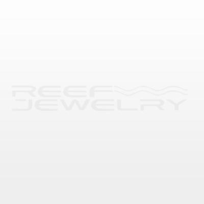 Silver Medium Manta Ray Pendant on Hayseed Chain Necklace